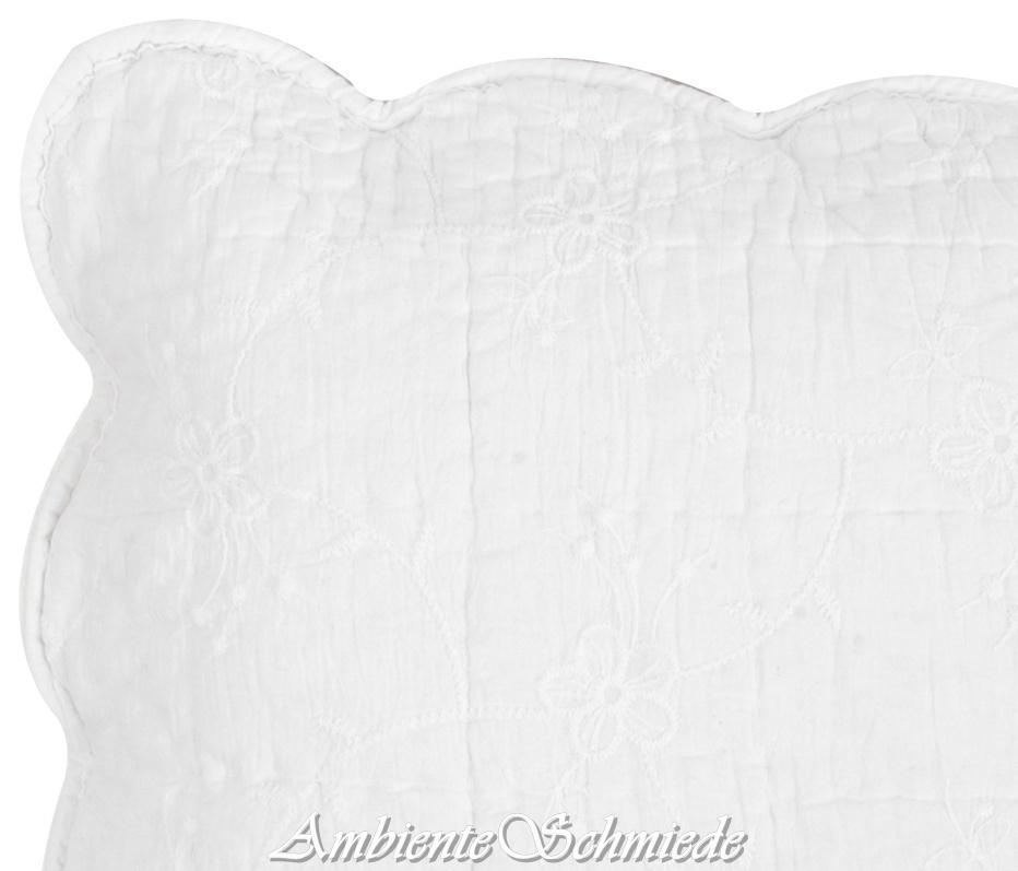 Clayre Eef Kissenhülle Kissenbezug 40x40 50x50 Quilt