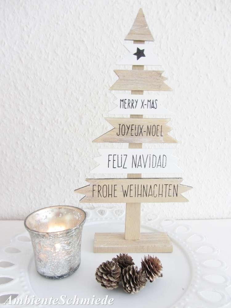 Xmas Deko Weihnachtsbaum.Holz Tannenbaum Weihnachtsbaum Frohe Weihnachten Noel Xmas Schild Deko Landhaus Skandi