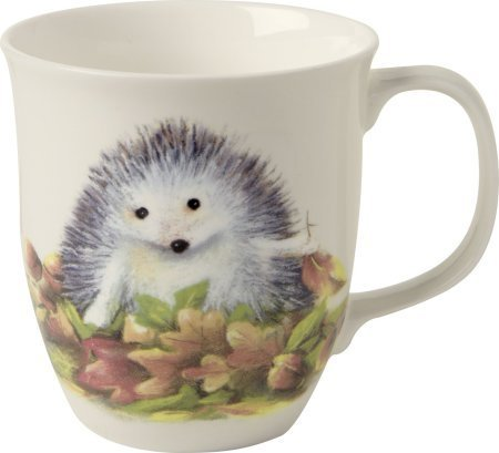 IHR Jumbo-Tasse LITTLE FRIEND Igel Porzellan Kinder Winter Weihnachten Shabby Landhausstil